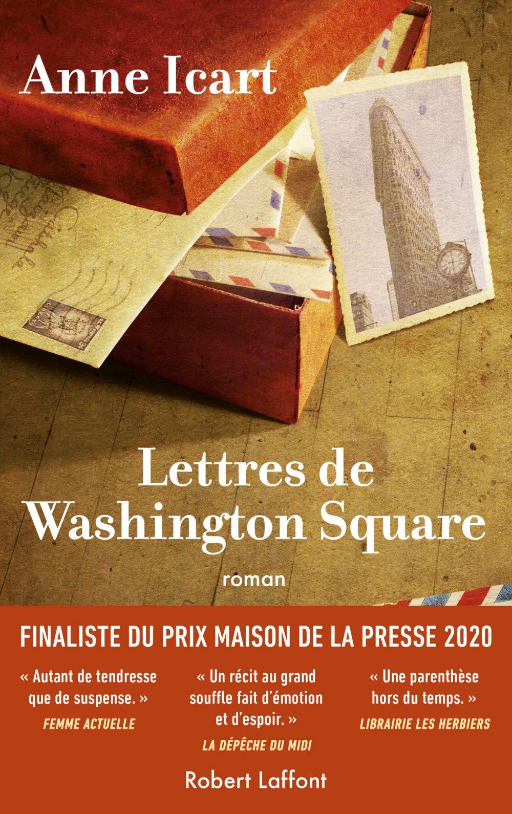 Lettres de Washington Square | ICART, Anne. Auteur