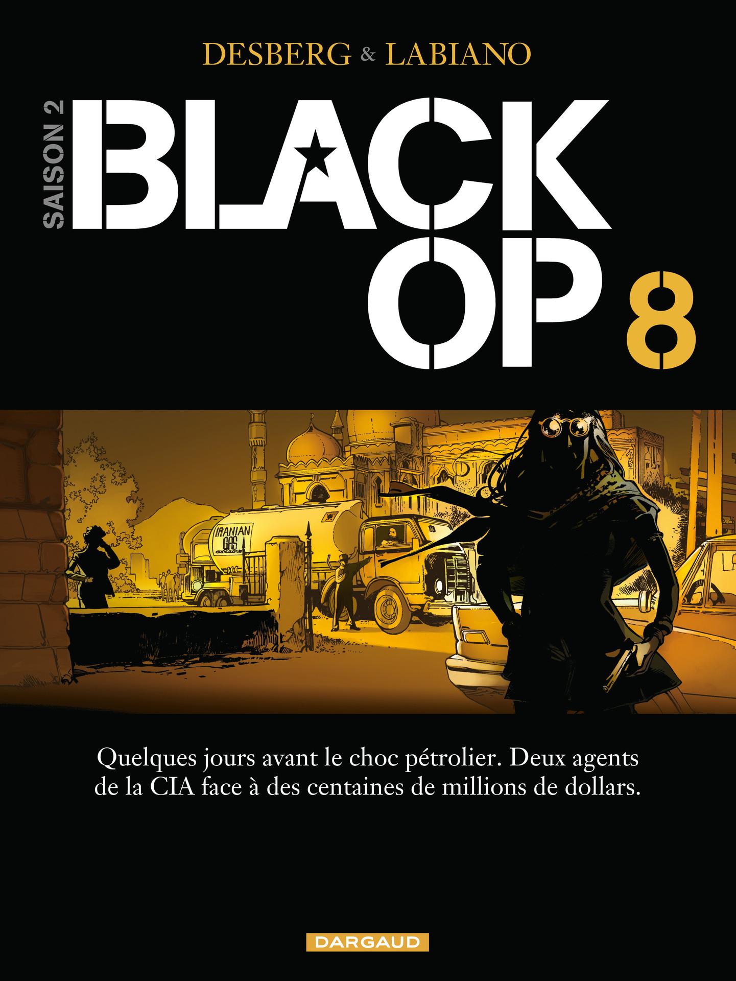 Black Op - saison 2 - Tome 8