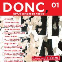DONC, Revue sonore de poési...