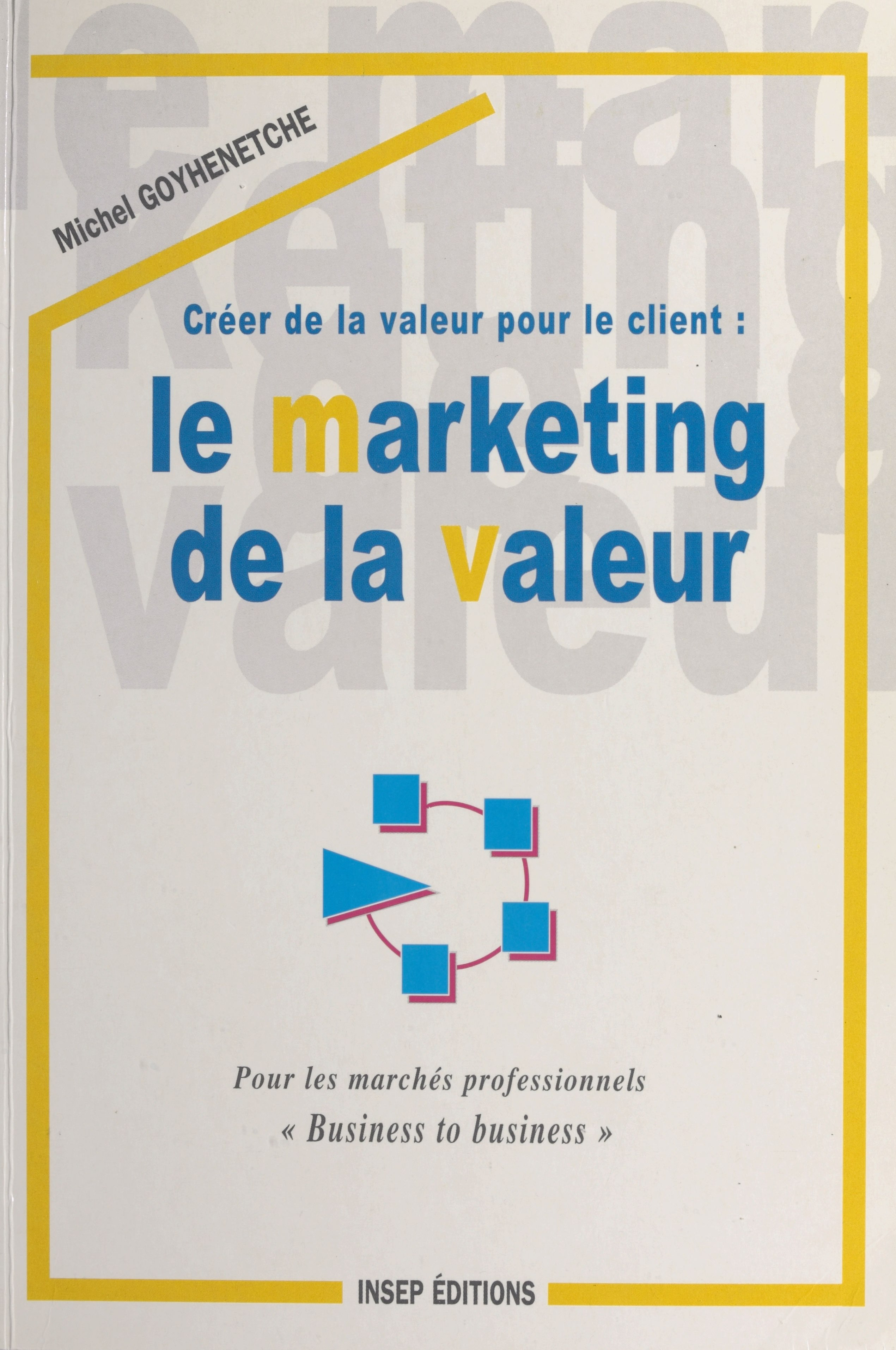 Créer de la valeur pour le client : le marketing de la valeur, Pour les marchés professionnels «Business to business»