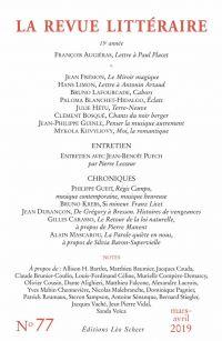 La Revue Littéraire N°77