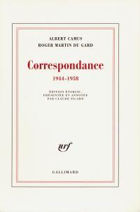 Correspondance (1944-1958)