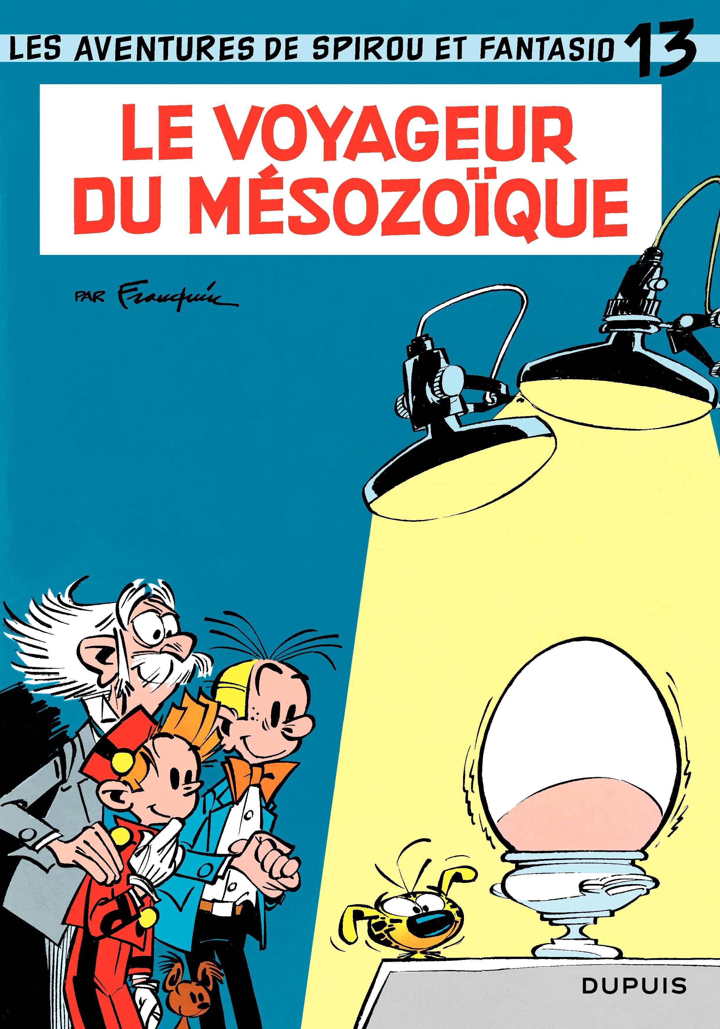 Spirou et Fantasio - Tome 13 - LE VOYAGEUR DU MESOZOIQUE