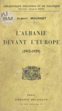 L'Albanie devant l'Europe