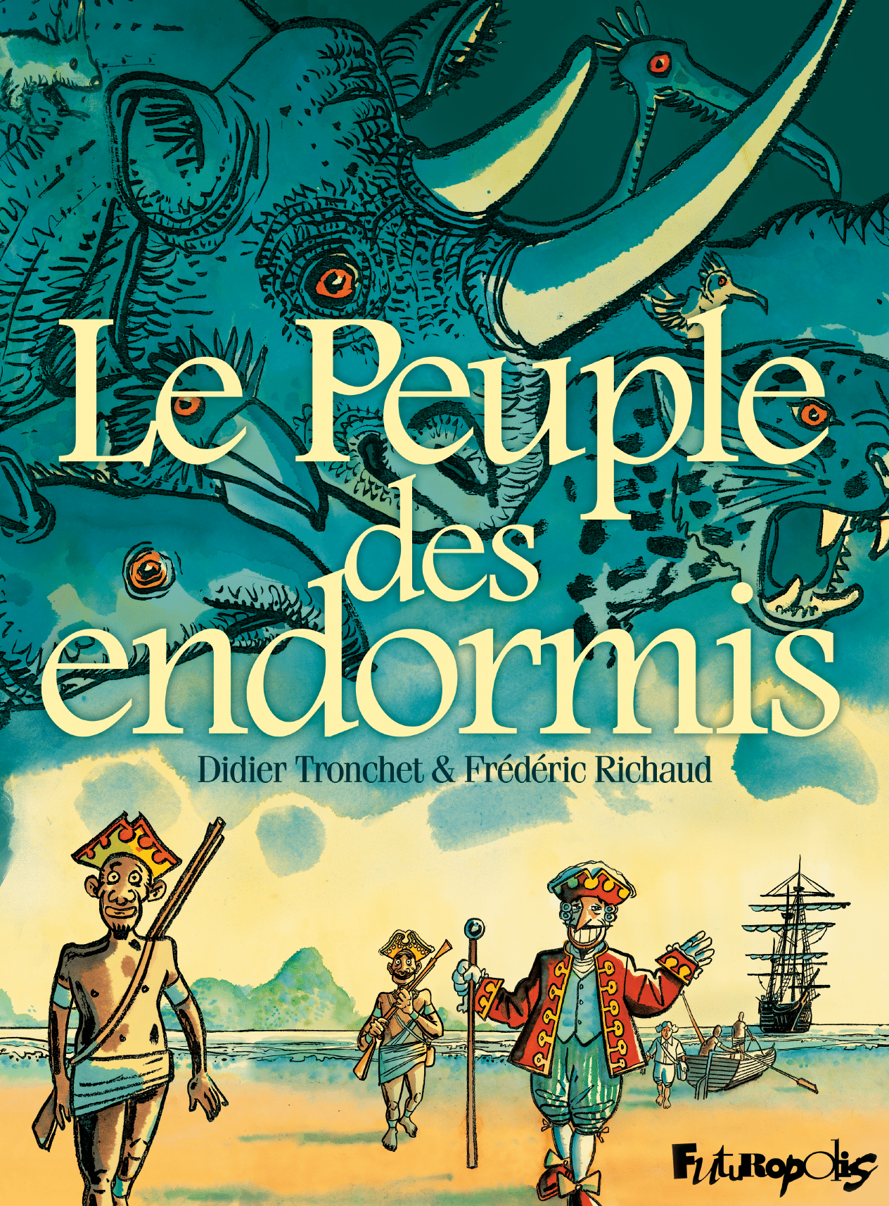 Le Peuple des endormis | Richaud, Frederic