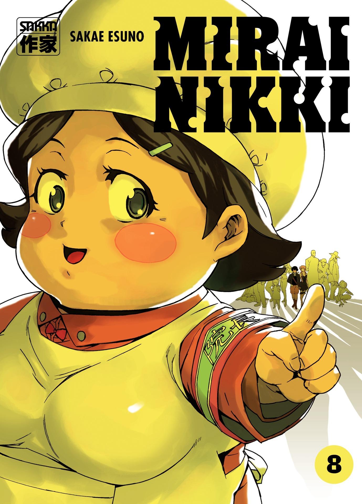 Mirai Nikki (Tome 8)