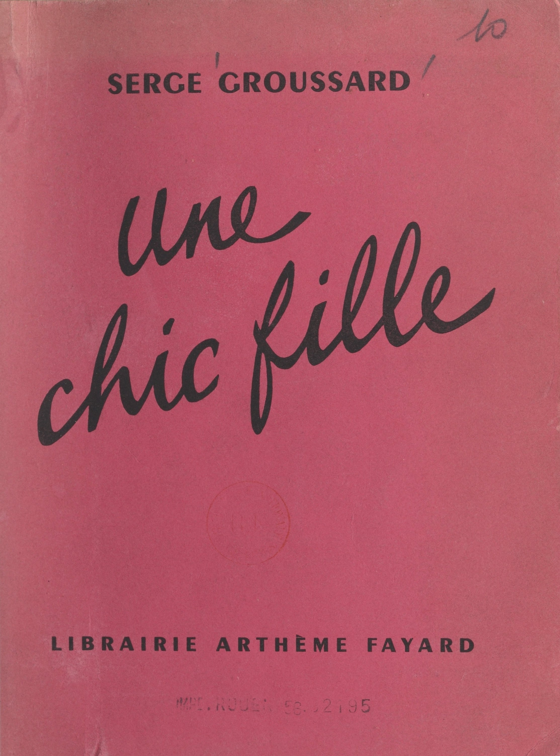 Une chic fille