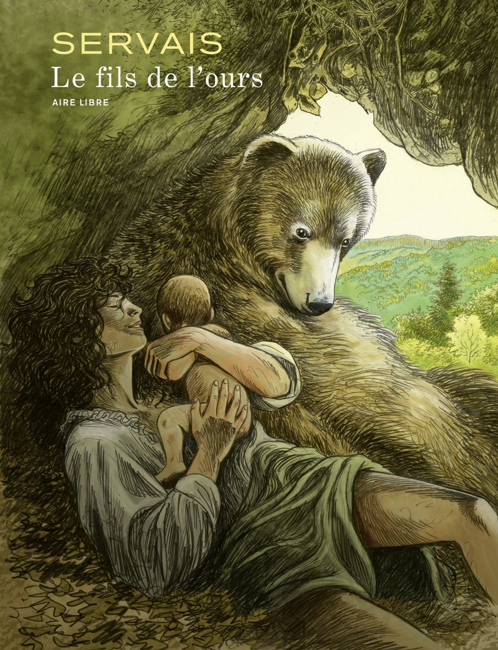 Le fils de l'ours | Servais, . Auteur