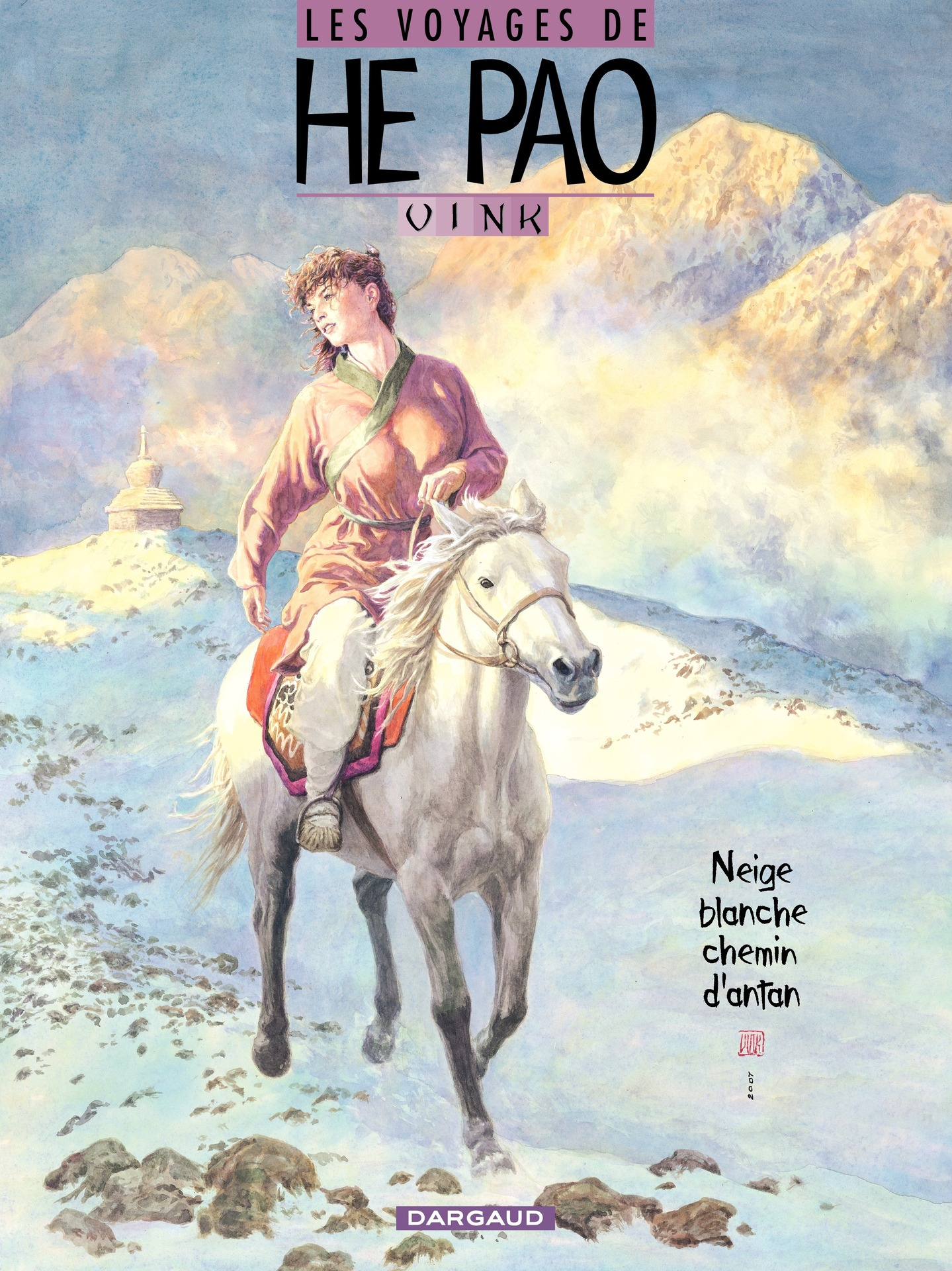 Les Voyages d'He Pao - Tome 4 - Neige blanche, chemin d'antan
