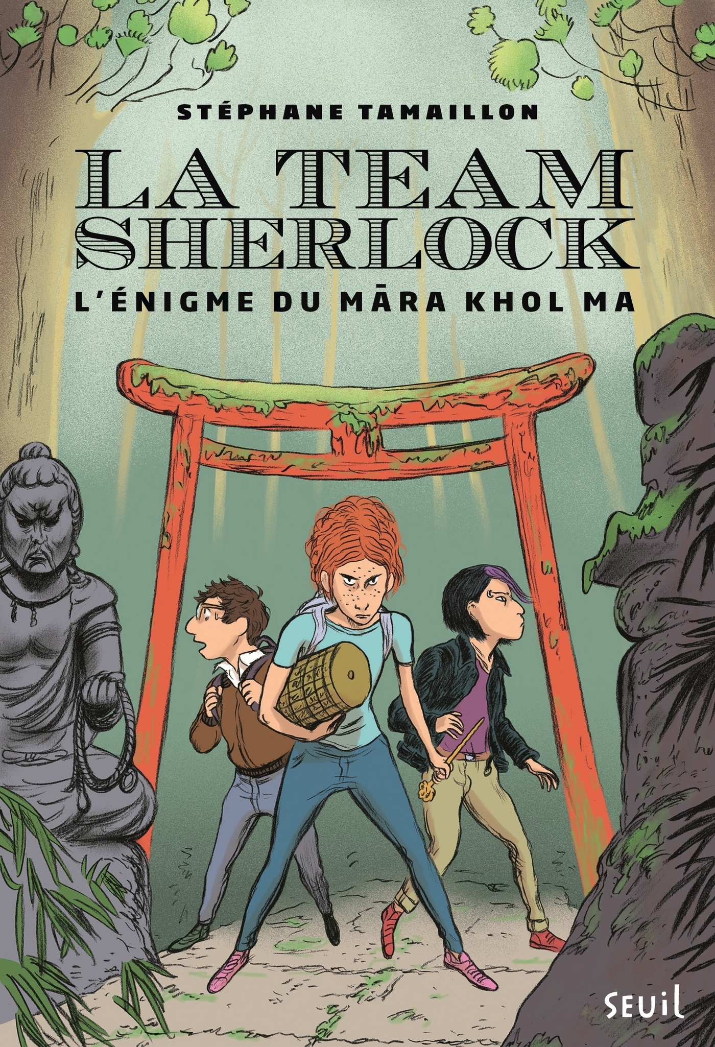 La Team Sherlock - tome 2 L'?nigme du Mara Khol Ma