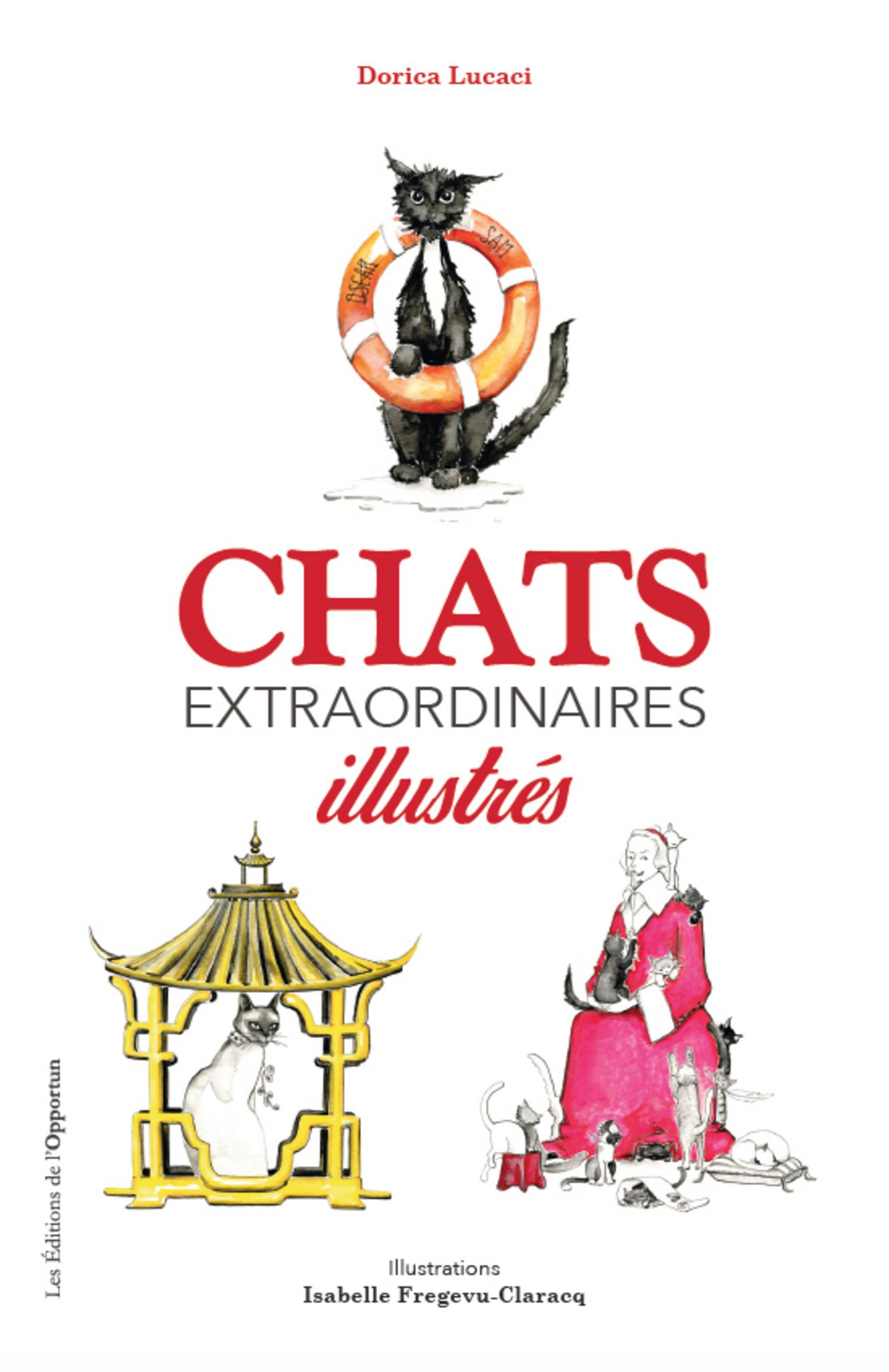 Chats extraordinaires illus...