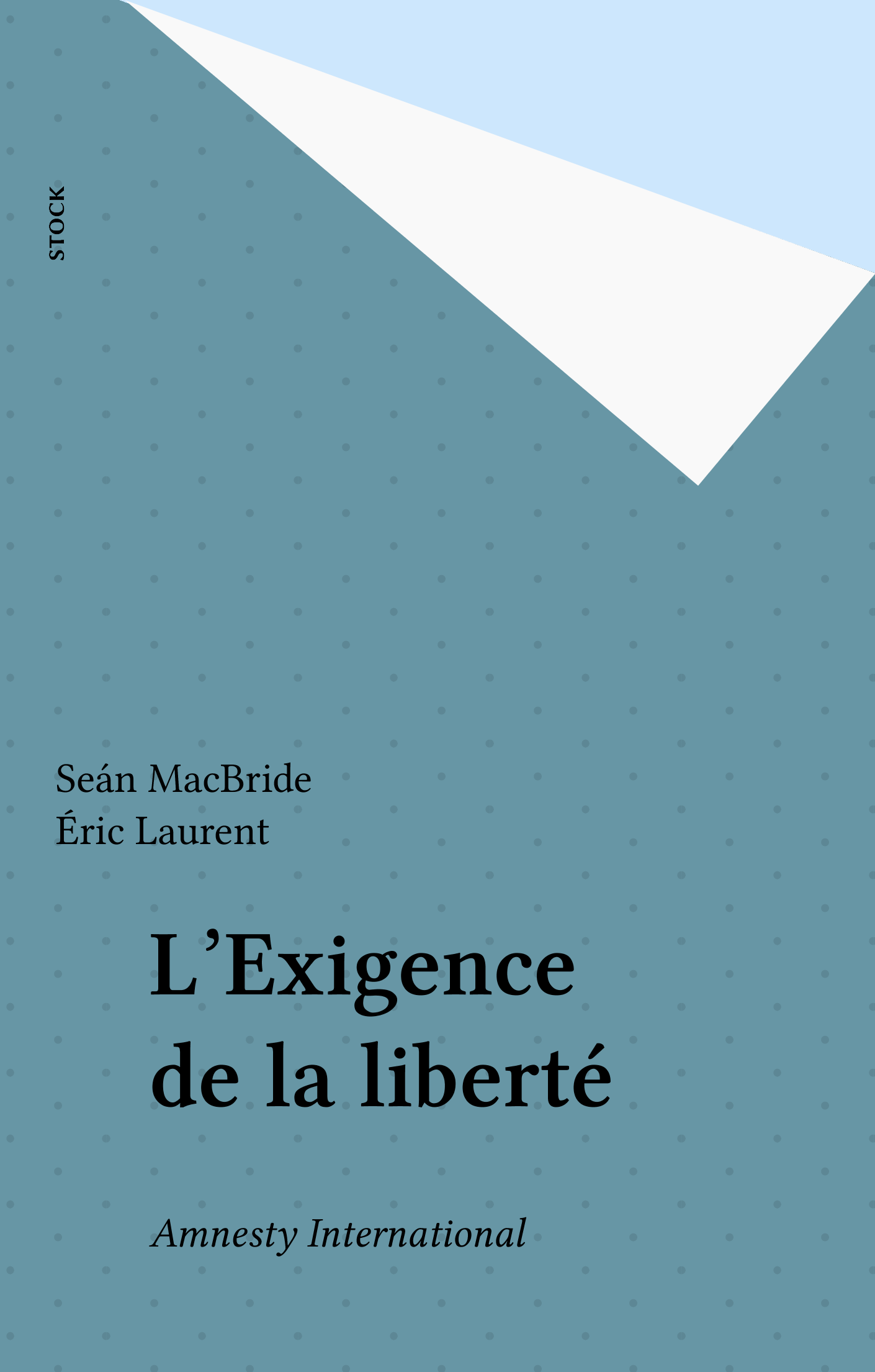 L'Exigence de la liberté, AMNESTY INTERNATIONAL
