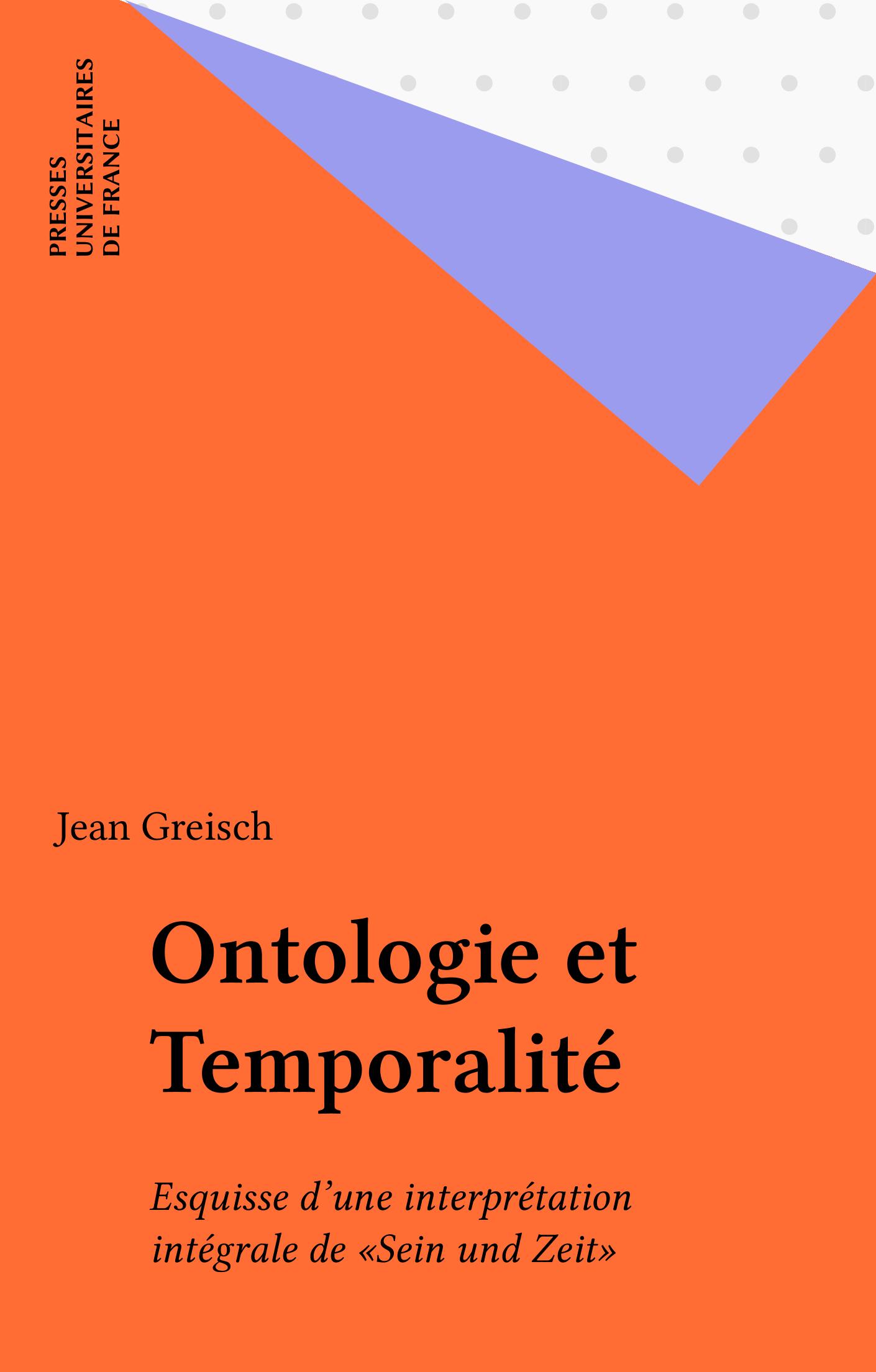 Ontologie et Temporalit?