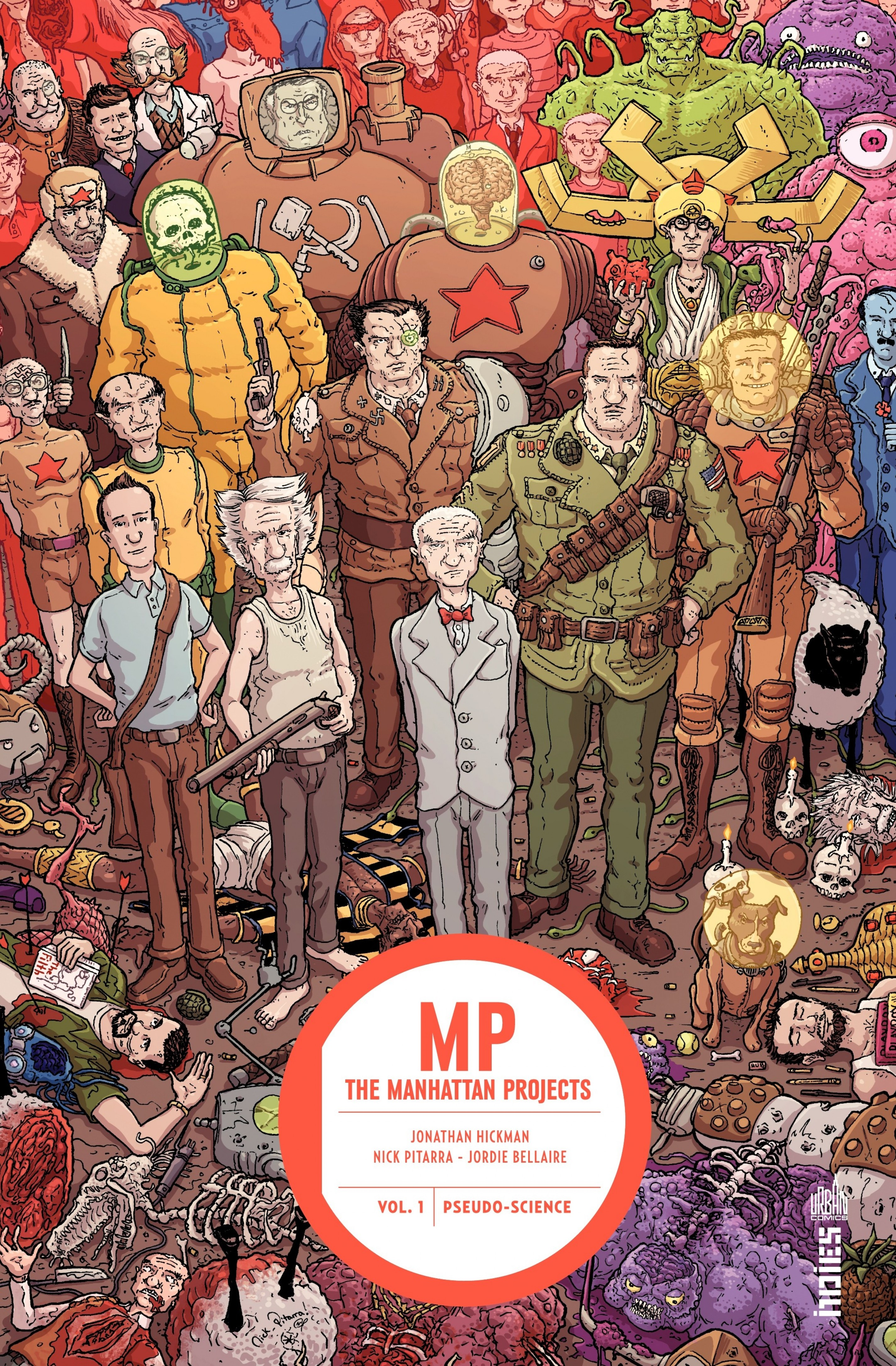 MANHATTAN PROJECTS - Tome 1...