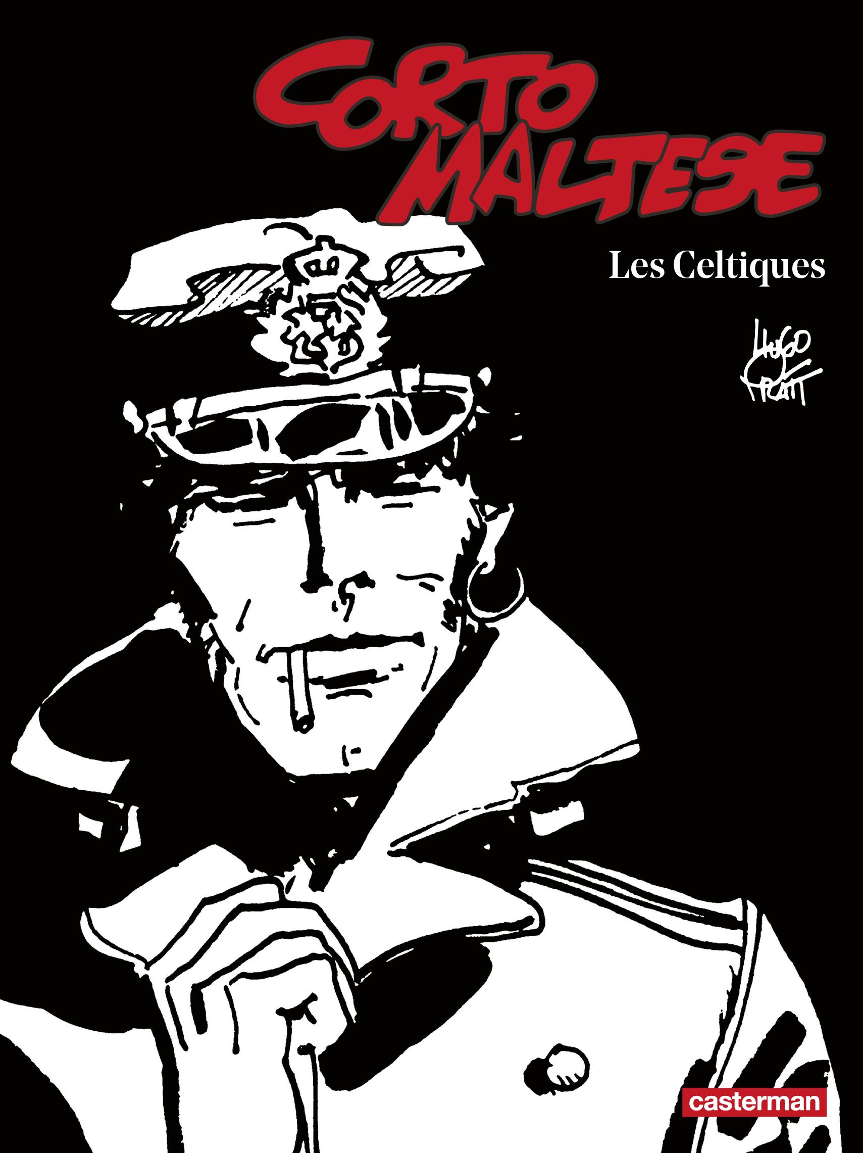 Corto Maltese (Tome 4) - Les Celtiques (édition enrichie noir et blanc)