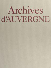 Archives d'Auvergne