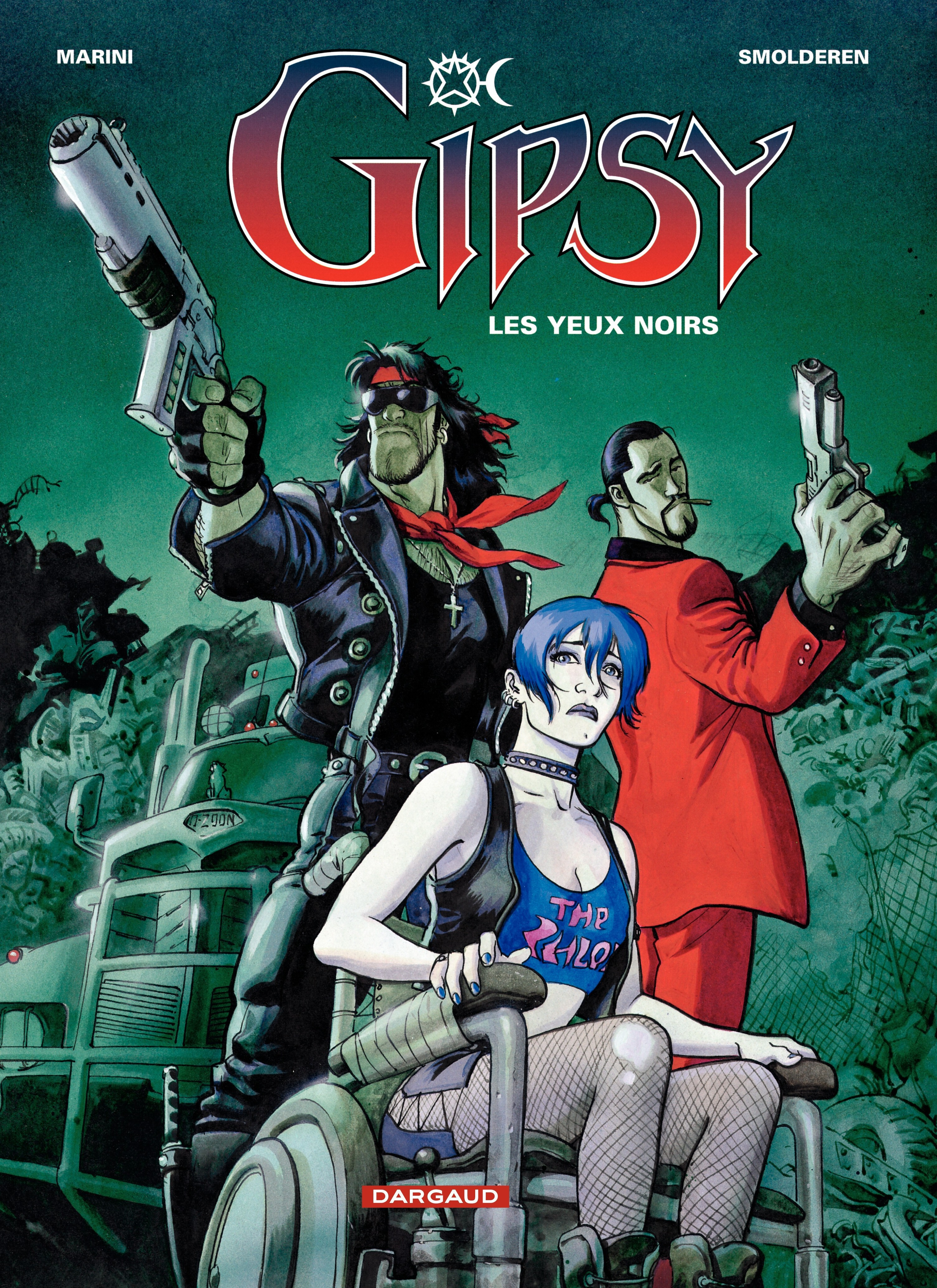 Gipsy – tome 4 – Les Yeux n...