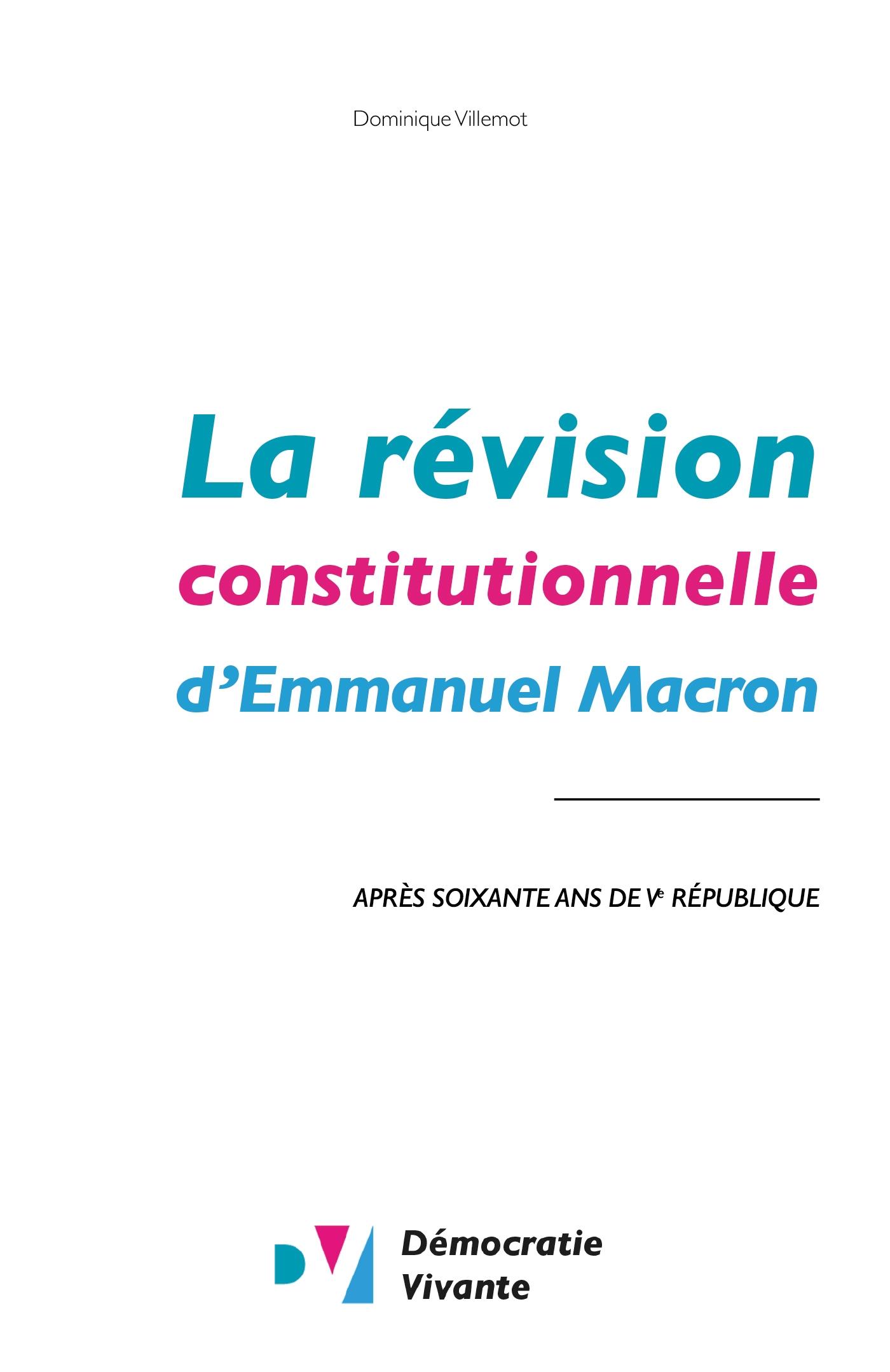 La révision constitutionnel...
