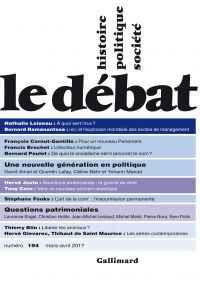 Le Débat N° 194 (Mars - avr...