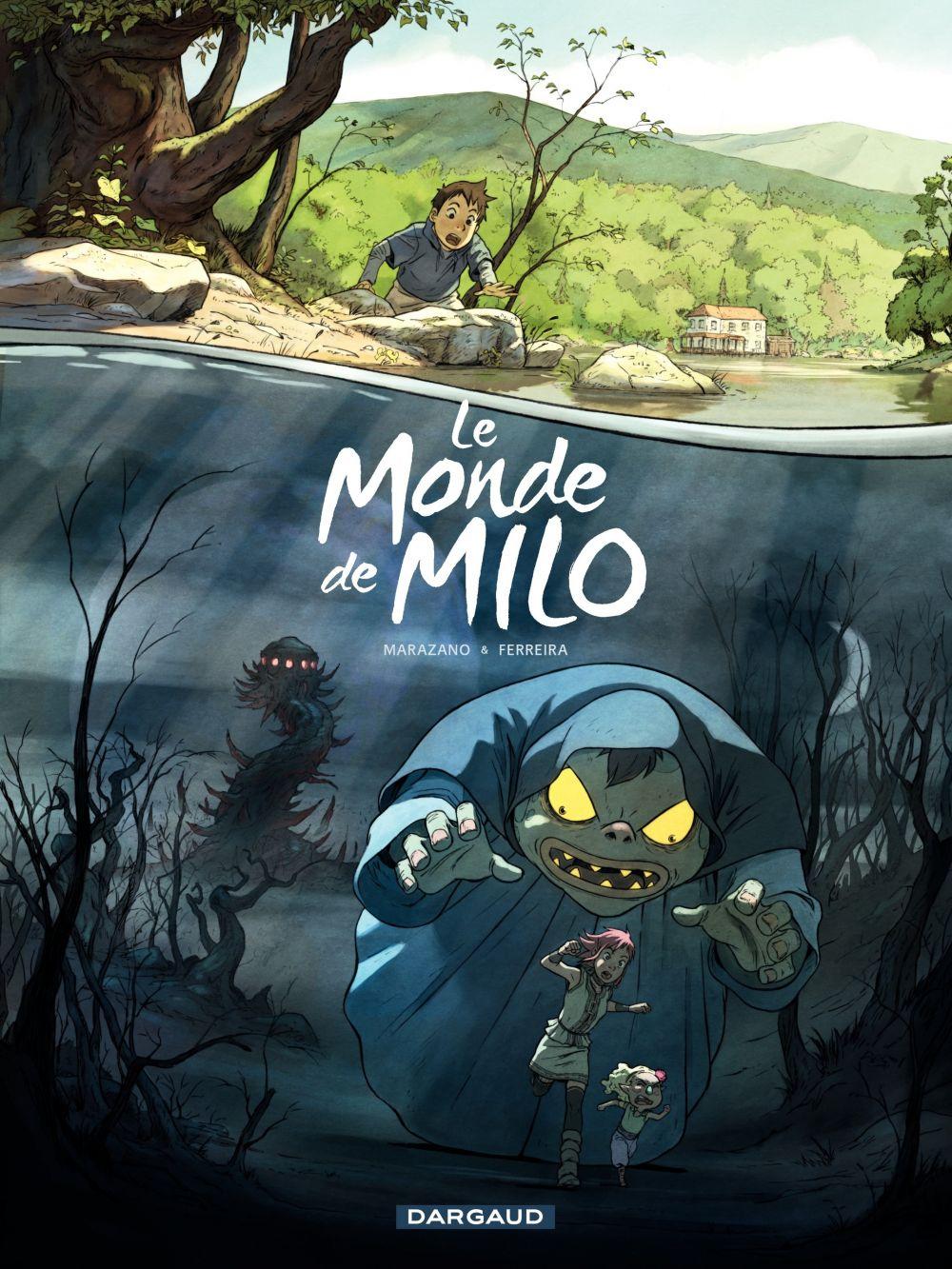 Monde de Milo (Le) - Tome 1 - Le Monde de Milo (1/2) | Christophe Ferreira, . Illustrateur