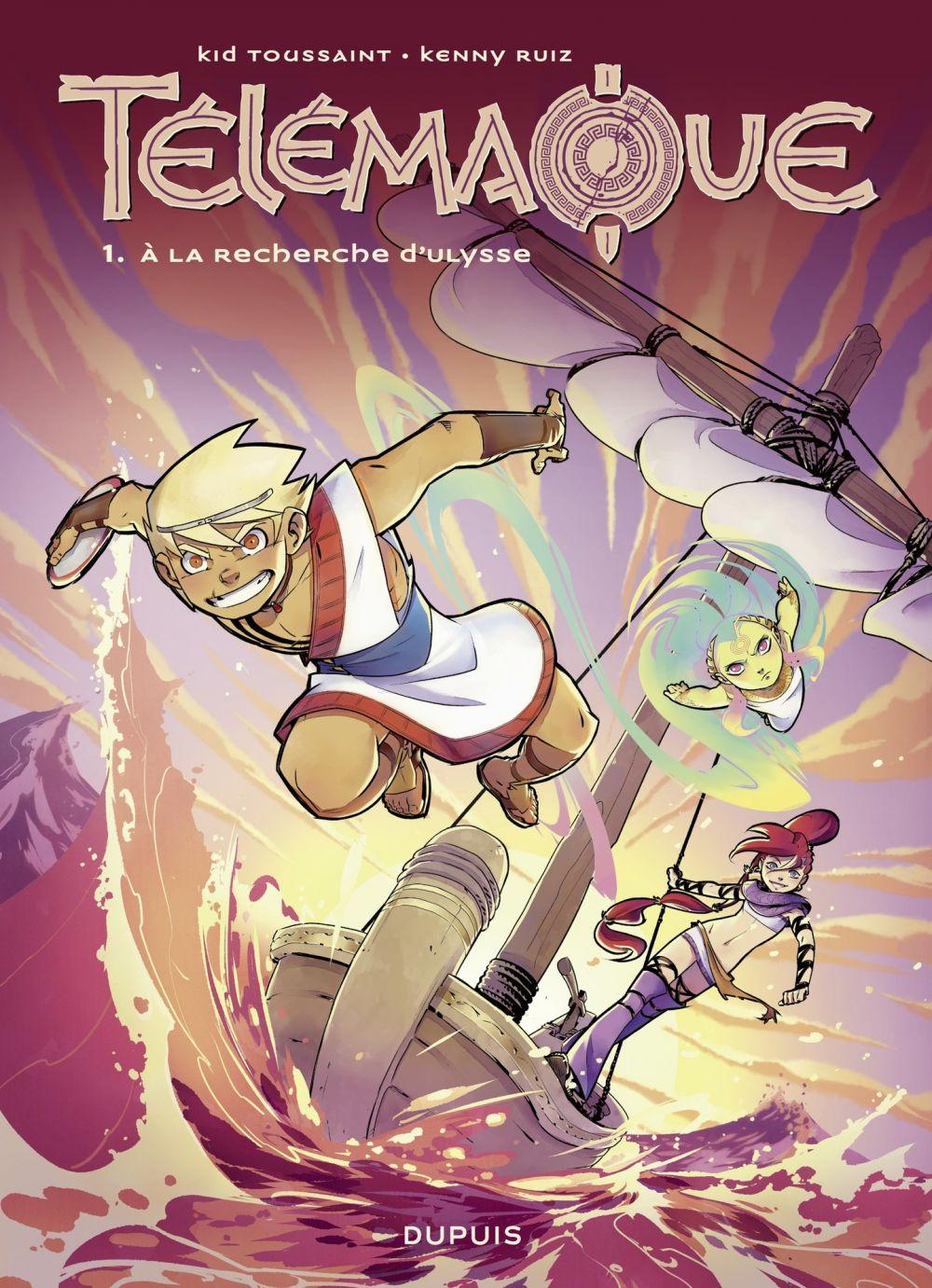 Télémaque - tome 1 - À la recherche d'Ulysse | Ruiz, Kenny. Illustrateur