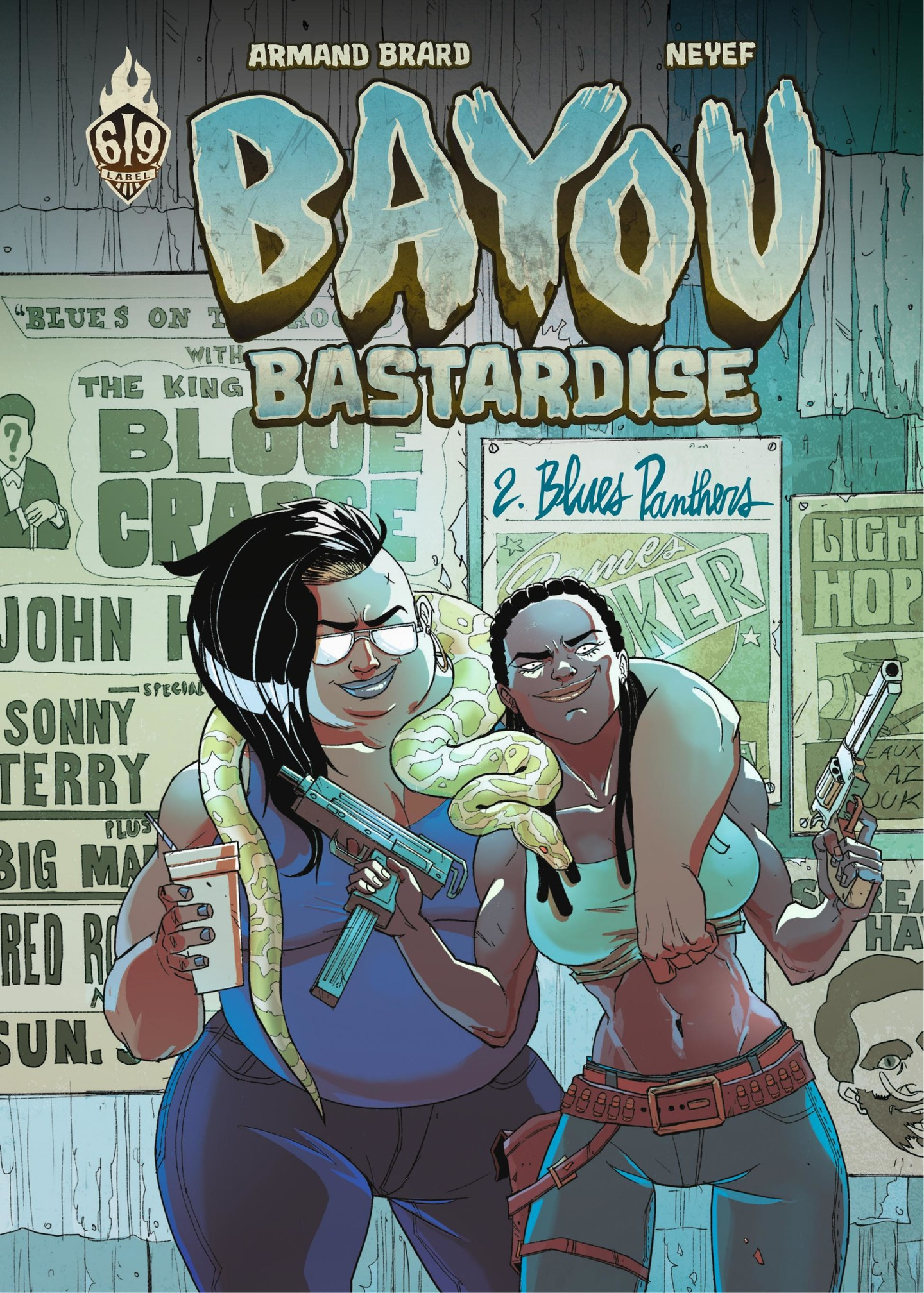 Bayou Bastardise 2 : Blues ...