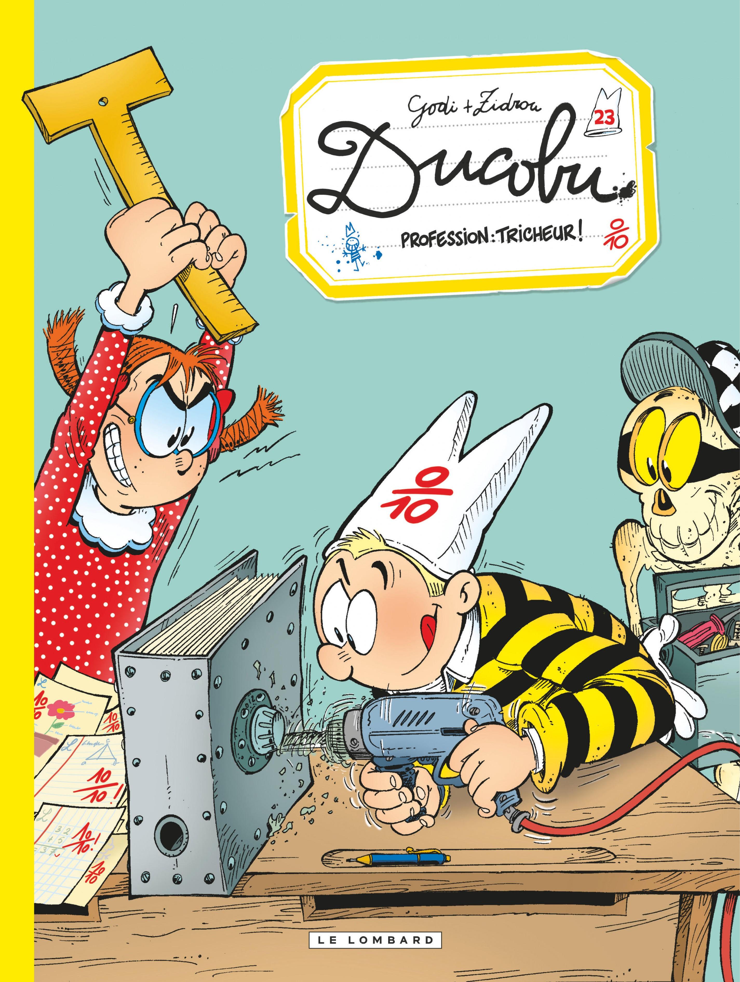 Ducobu - Tome 23 - Profession: tricheur! |