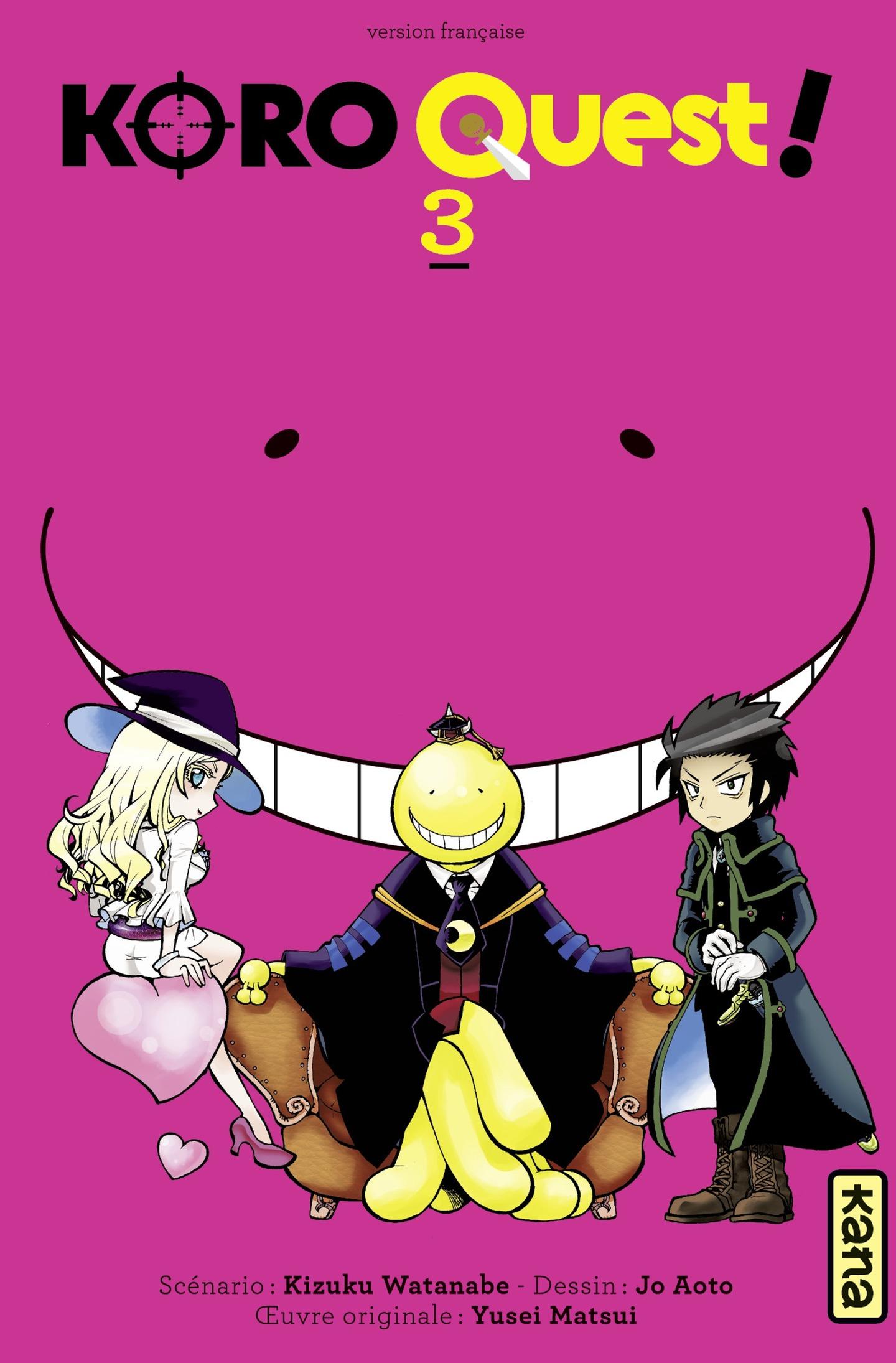 Koro Quest ! - tome 3