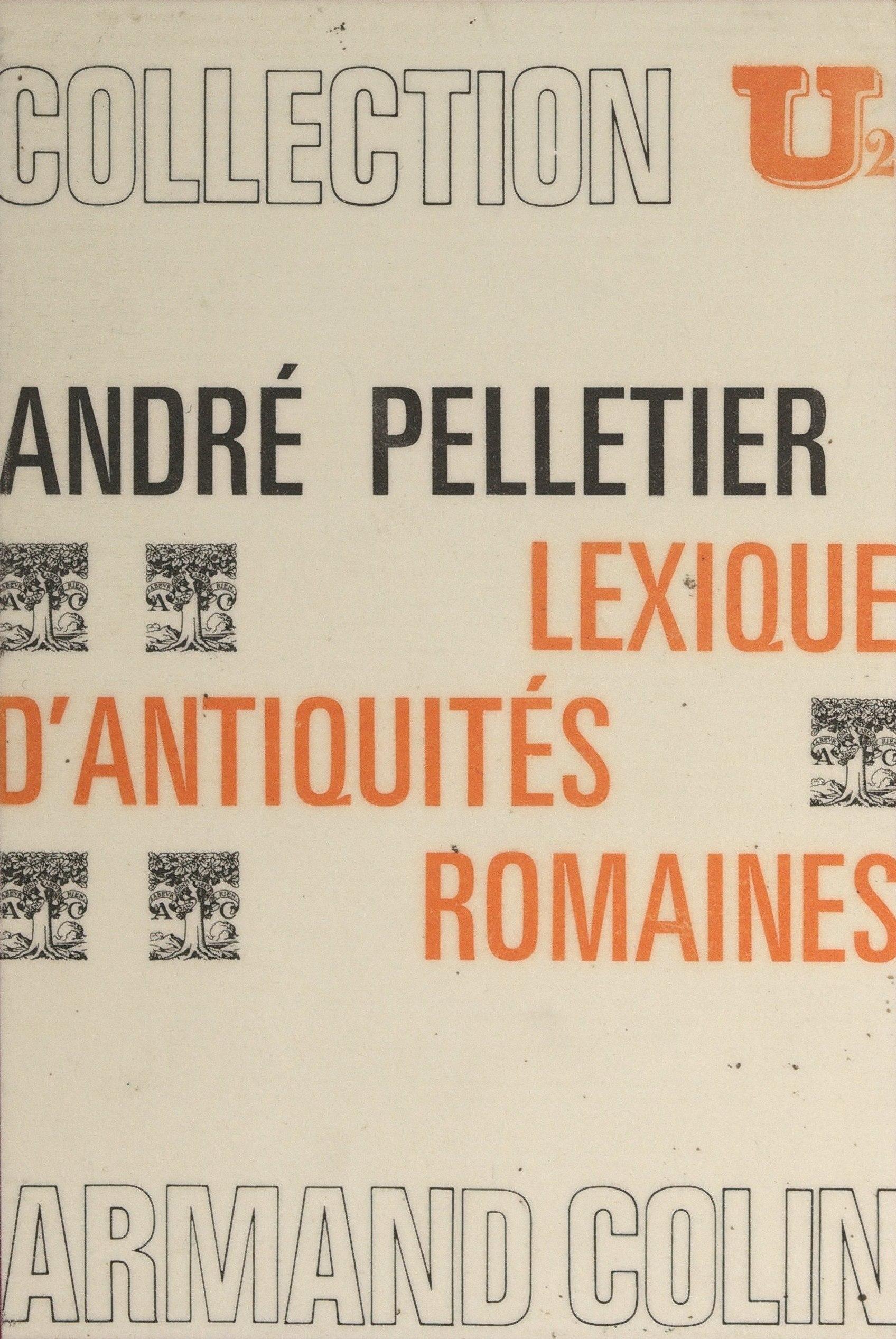 Lexique d'antiquités romaines