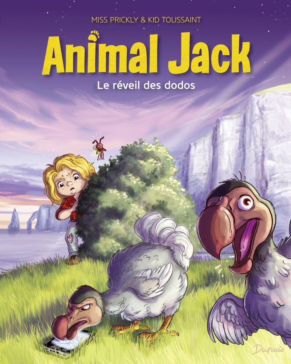 Animal Jack - tome 4 - Le réveil des dodos   Toussaint, Kid. Auteur