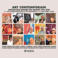 Art contemporain. Anthologie sonore des artistes (1995-2010) | Adami, Valerio. Auteur