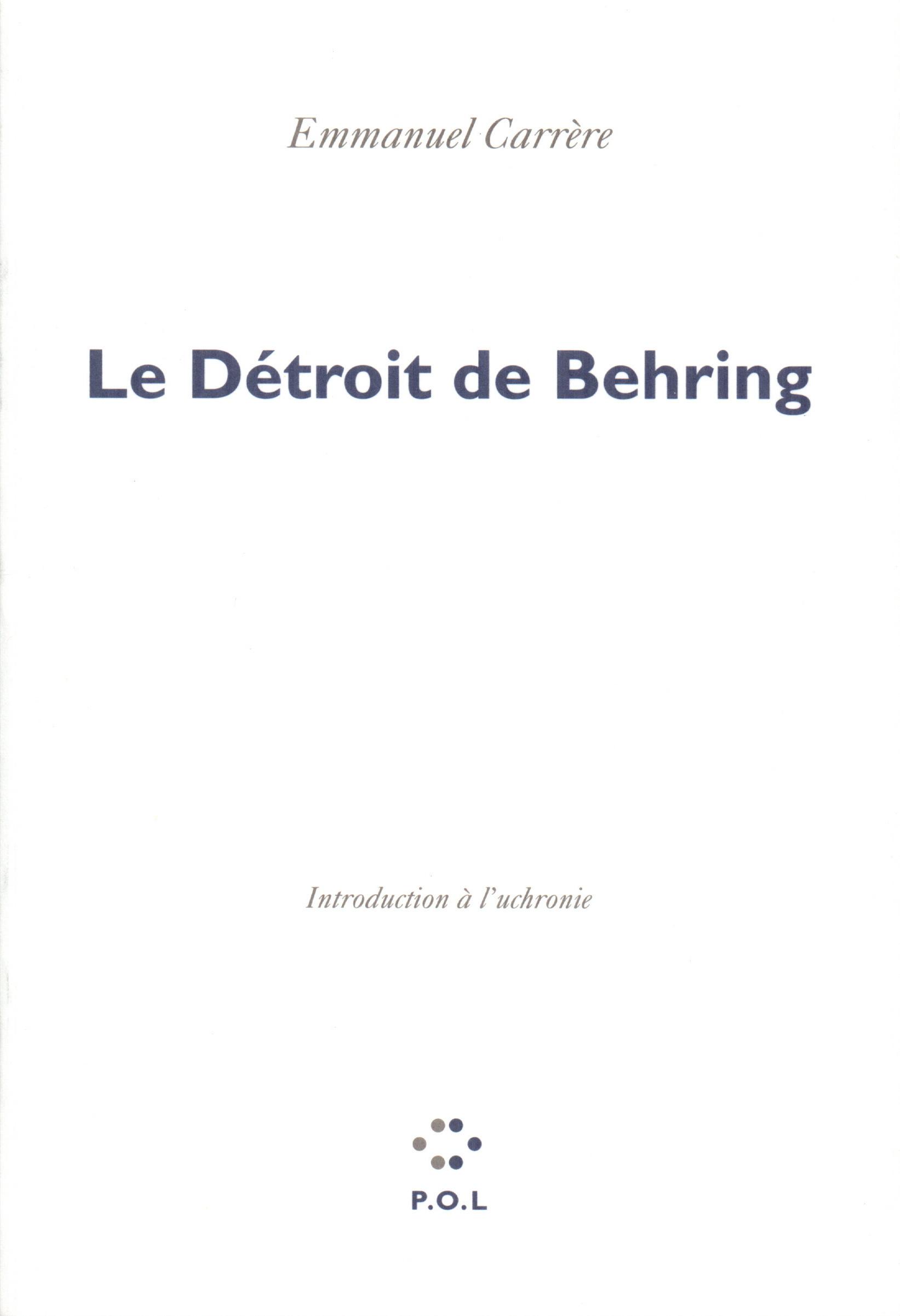 Le Détroit de Behring