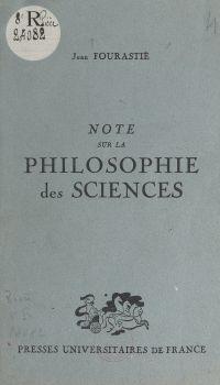 Note sur la philosophie des...