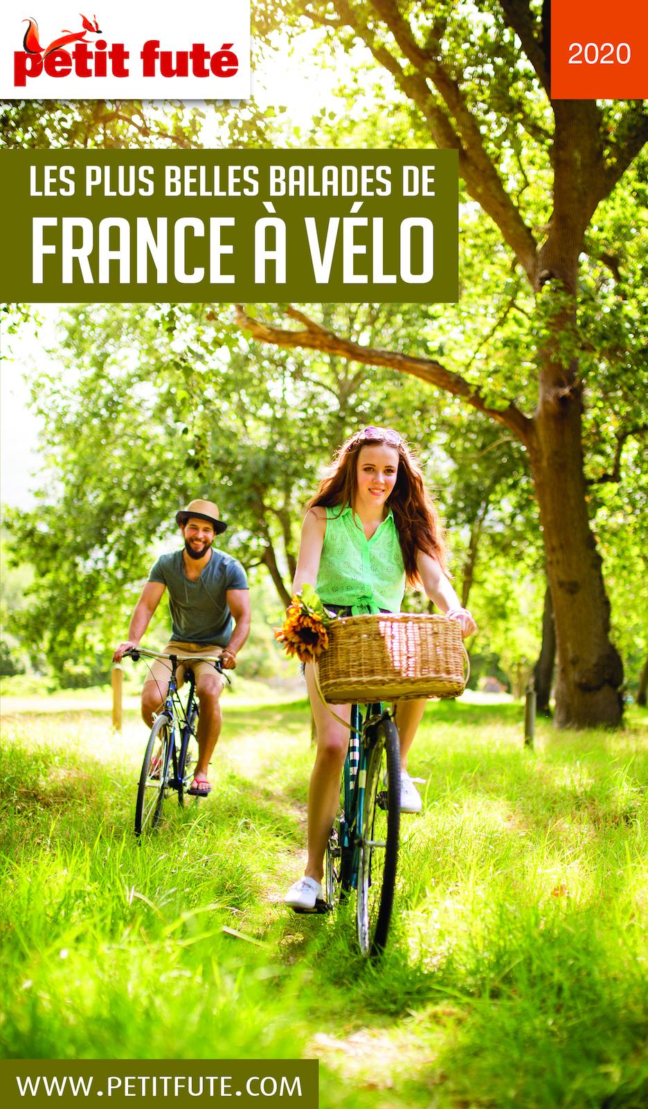 LES PLUS BELLES BALADES DE FRANCE À VÉLO 2020 Petit Futé   Auzias, Dominique. Auteur