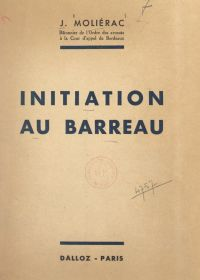 Initiation au Barreau