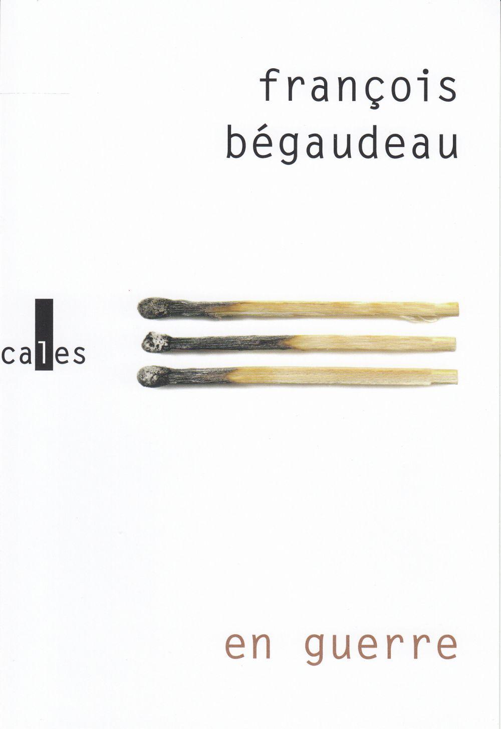 En guerre   Bégaudeau, François (1971-....). Auteur