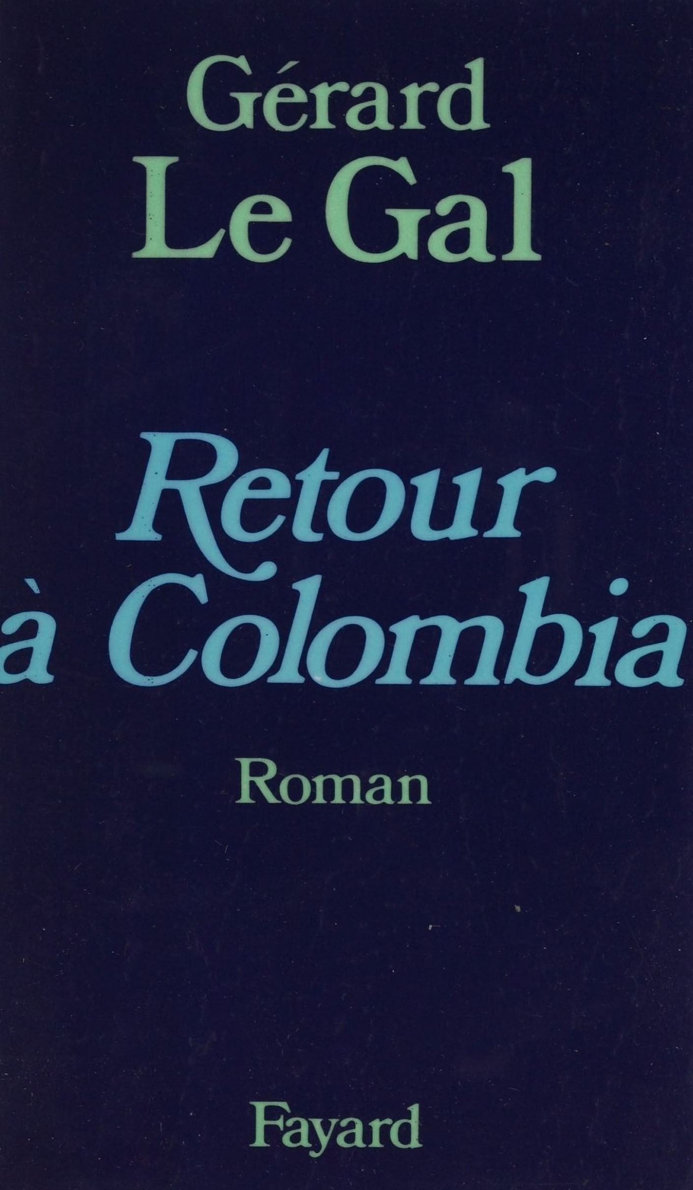 Retour à Colombia