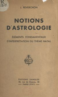 Notions d'astrologie