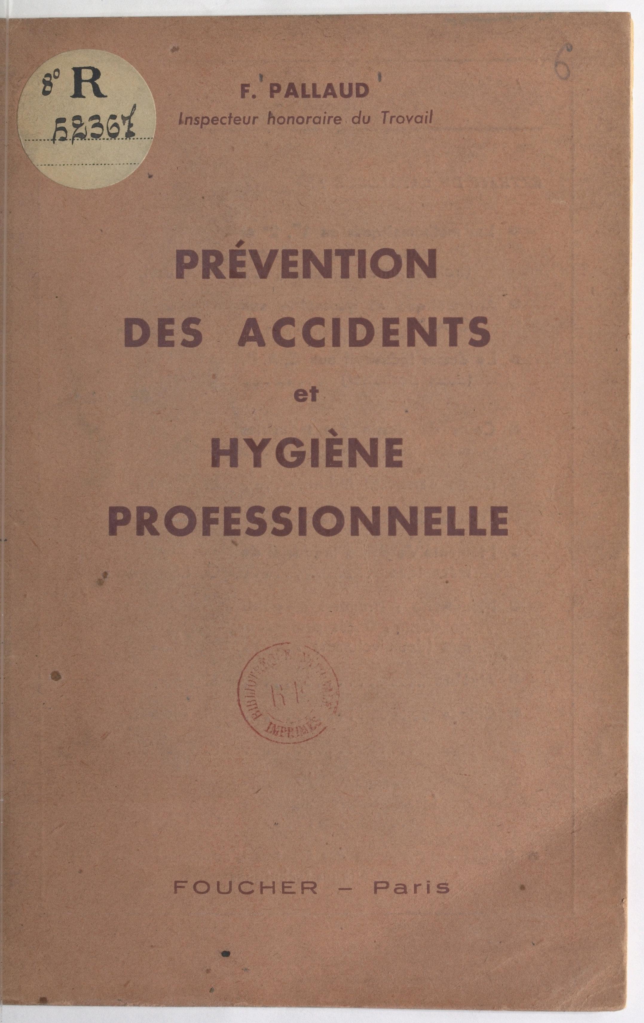 Prévention des accidents et...
