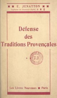 Défense des traditions prov...
