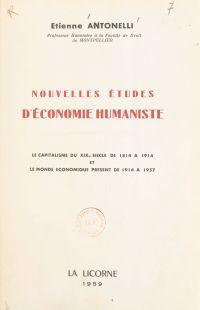 Études d'économie humaniste