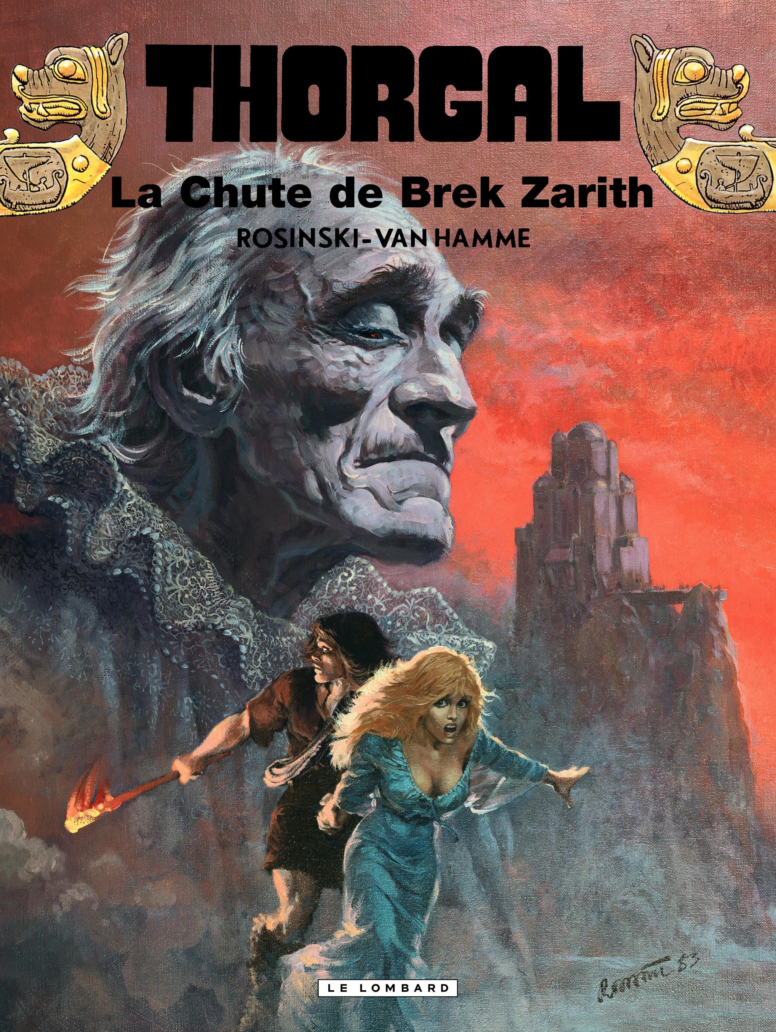 Thorgal - tome 06 – La chute de Brek Zarith