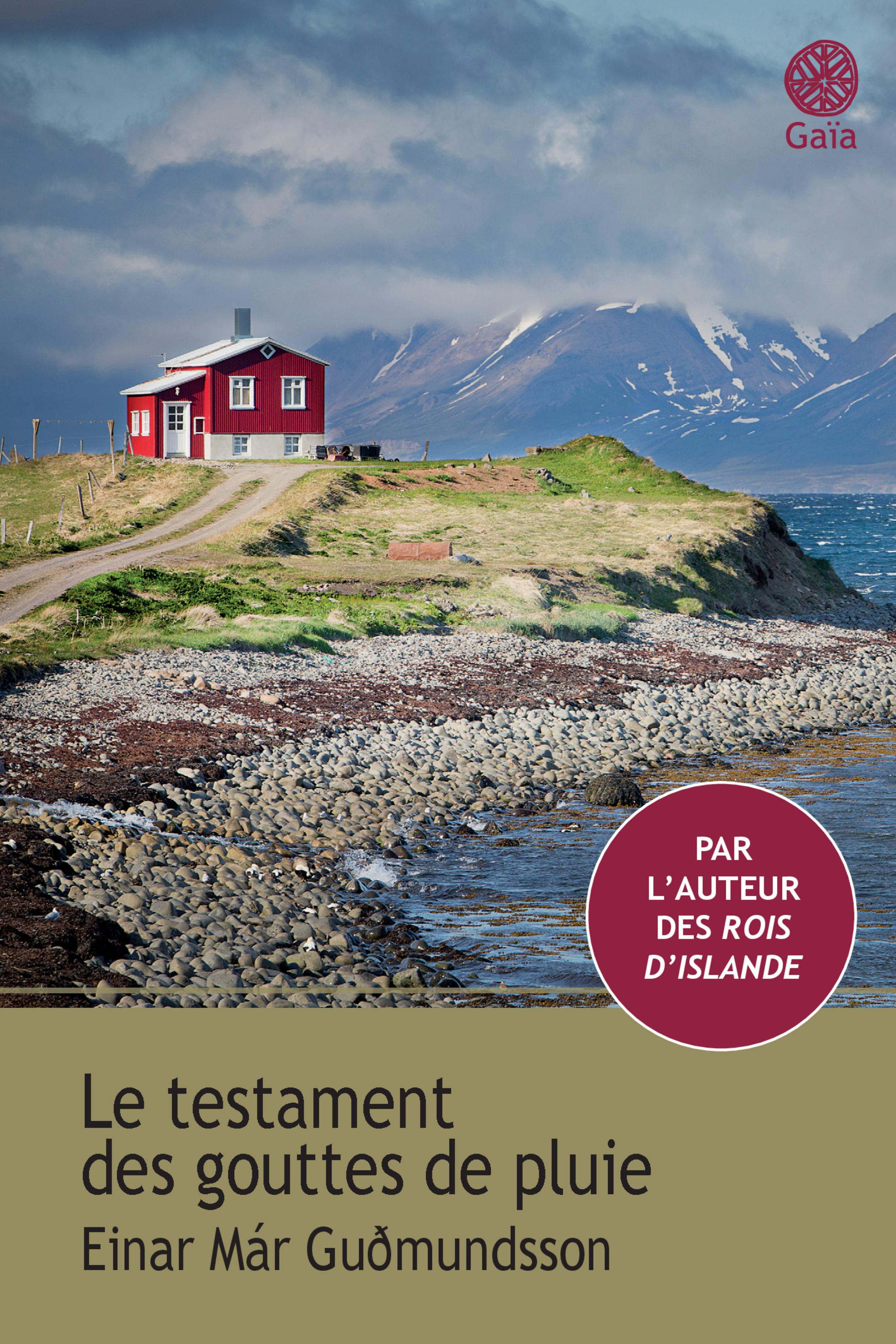 Le testament des gouttes de pluie | Guðmundsson, Einar már