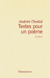 Image de couverture (Textes pour un poème)