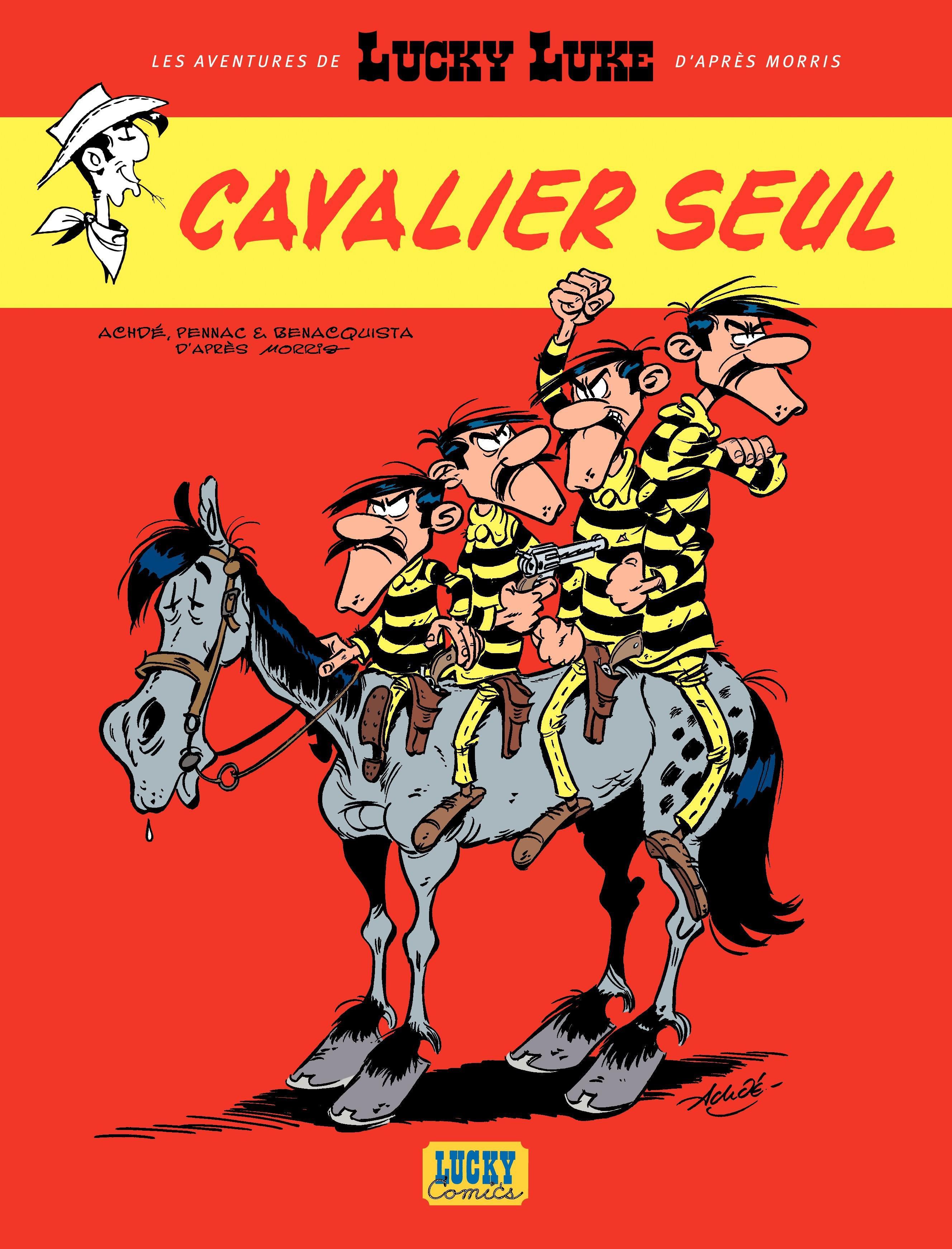 Les aventures de Lucky Luke d'après Morris - tome 5 - Cavalier seul