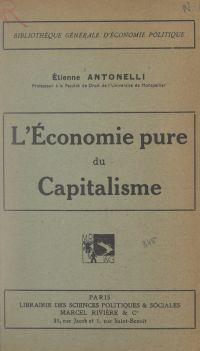 L'économie pure du capitalisme