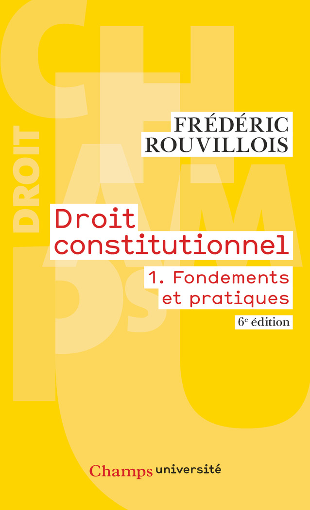 Droit constitutionnel (Tome...