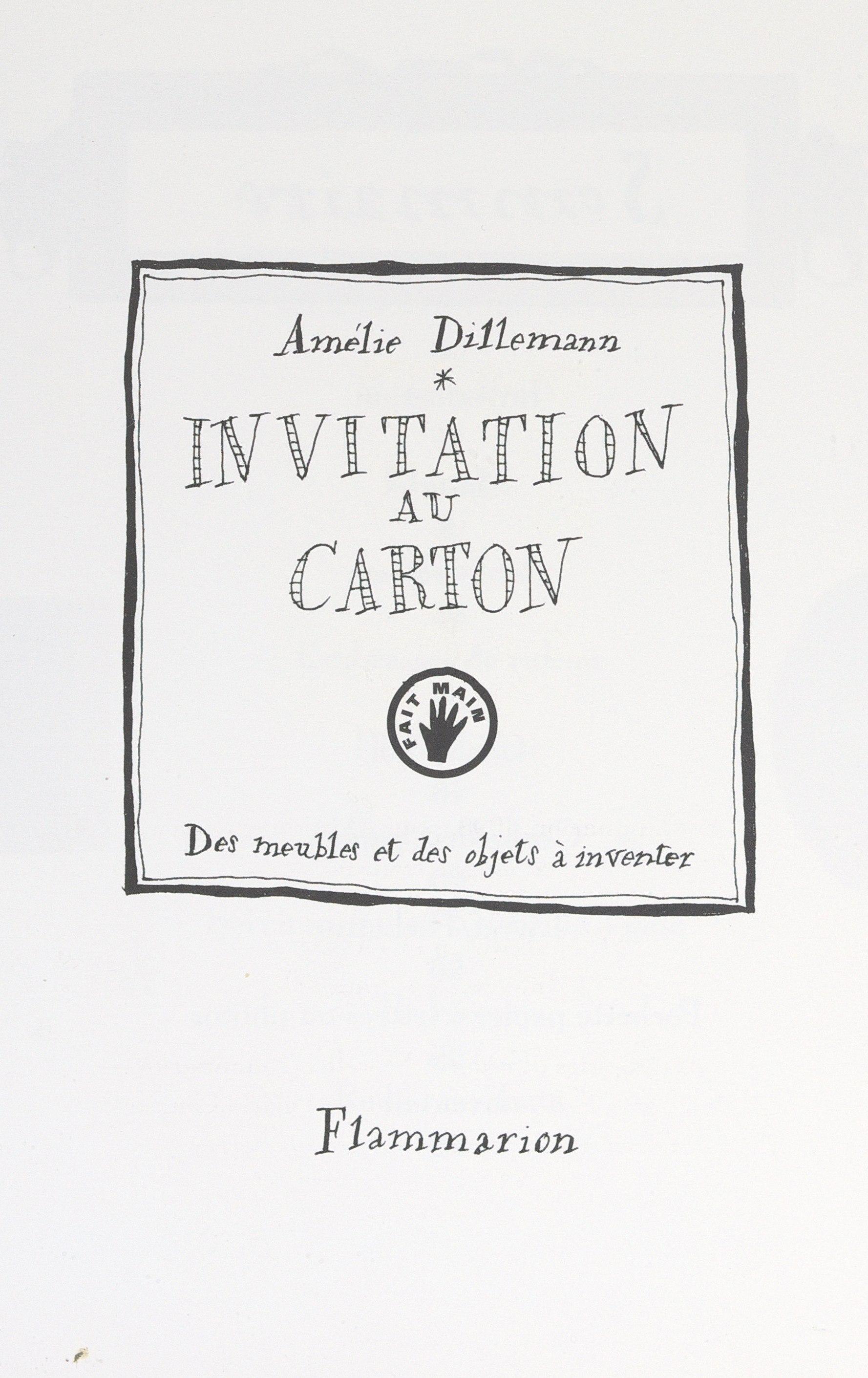 Invitation au carton