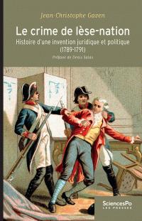 Le crime de lèse-nation