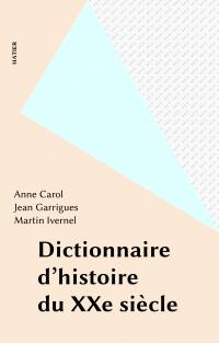 Dictionnaire d'histoire du ...